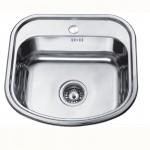 Компактна кухненска мивка от алпака – модел ICK 4749
