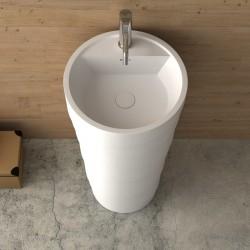 Масивен умивалник за баня релефно тяло – модел ICB 4590 (Inter Ceramic)