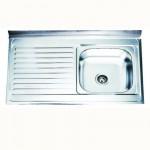 Кухненска мивка от алпака – тип реверсивна БОРДОВА