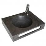 Плот за стенен монтаж с мивка ICL 4712BL от Inter Ceramic (България)