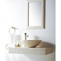 Плот за стенен монтаж с мивка ICL 4515 от Inter Ceramic (България)