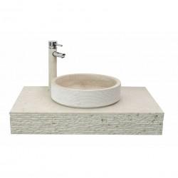 Плот за стенен монтаж с мивка ICL 4023 от Inter Ceramic (България)