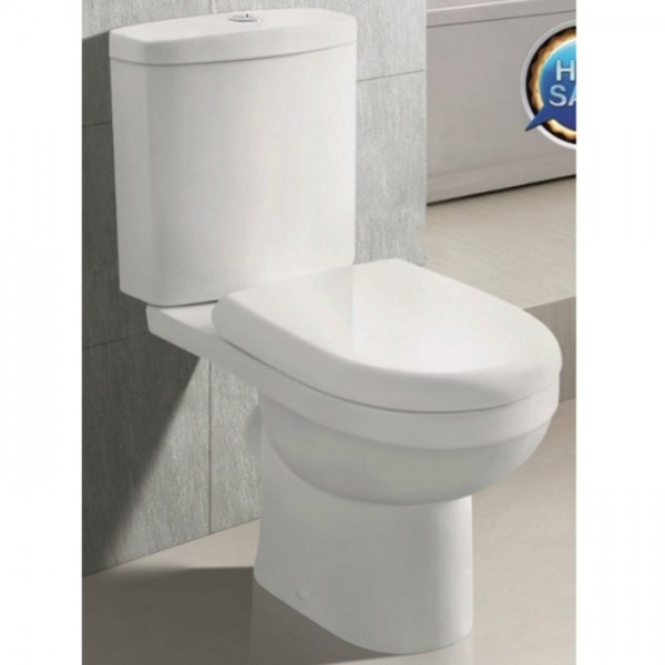 WC комплект тип луксозен порцеланов моноблок – РУБИ
