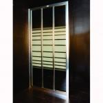 Стъклен параван за баня от Интер Керамик – рисувано стъкло