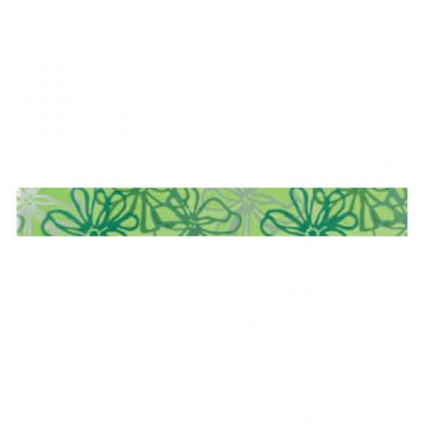 Фриз за баня с размери 5 x 40 см. Listelo Fly Verde