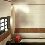 Лъскави плочки за ефектна баня Agency Cuero от Keros (Испания)