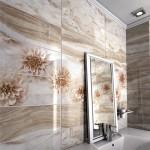 Нетрадиционни плочки за чаровна баня Duty Beige от Keros (Испания)