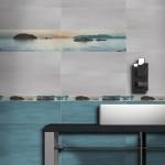 Дизайнерски плочки за оригинална баня Life Azor от Keros (Испания)