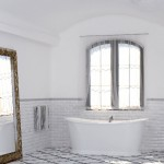 Универсални плочки за баня в еко стил Laguna от Monopole Ceramica (Испания)