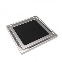 Точков сифон DS-11-CD black / с черно стъкло