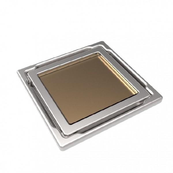 Точков сифон DS-11-CD beige/ с бежово стъкло