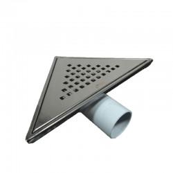 Сифон за баня триъгълен – финиш черен