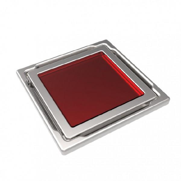 Точков сифон DS-11-CD red/ с червено стъкло