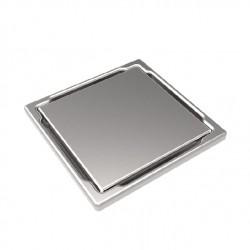 Точков сифон DS-11-CD gray/ плочка неръждаема стомана
