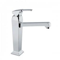 Висок смесител за мивка - стоящ, с превключвател
