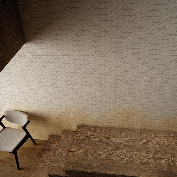 ASTEROIDS -  тапети за баня на производителя Glamora
