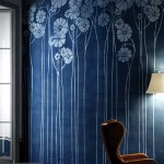 DAISY BLUE -  тапети за баня на производителя Glamora