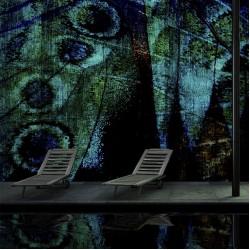 PARIS GREEN  -  тапети за баня на производителя Glamora