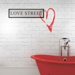 Тапети със сърца LOVE STREET (Glamora)