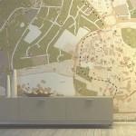Тапети с карта CITY CENTRE (Glamora)