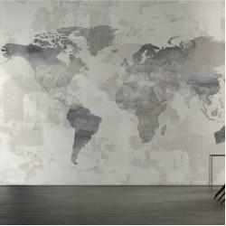 Тапети с карта на света HOT SPOT (Glamora)