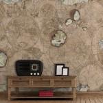 Тапети с карти на света GLOBETROTTER (Glamora)