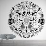 Дизайнерски тапети CIRCLE (Glamora)