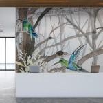 Тапети с птици COLIBRI (Glamora)
