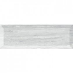 Плочки за стена с размери 10 x 30 см. CRETA GRIS BRILLO/MATE BISEL