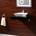 Черен плот за баня PVC