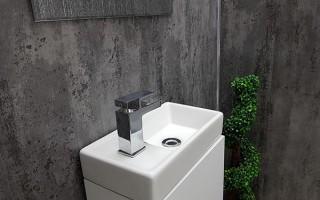 Плочки за баня антрацит