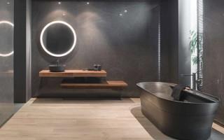 Широкоформатни плочки за баня