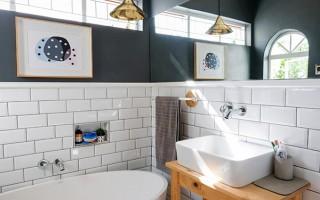 Малка мивка за баня