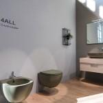 Окачено биде 4ALL – модел на Globo Ceramica (Италия)