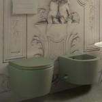 Тоалетна чиния за окачване – модел Forty 3 Globo Ceramica (Италия)