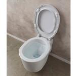Стенна тоалетна чиния тип Bucket (Кофа) - седалка дуропласт