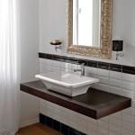 Италианска Мивка за баня Butterfly тип корито - без отвор за смесител