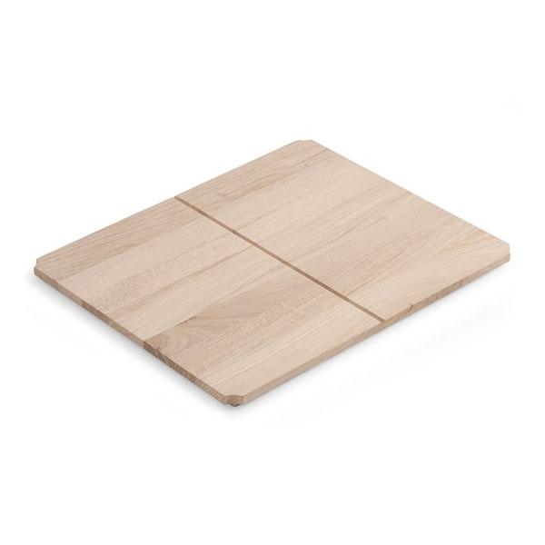 Дървен рафт за конзола за мивка Fuji 6011