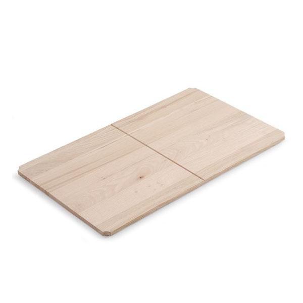 Дървен рафт за конзола за мивка Fuji 6012
