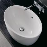 Дълбока овална Мивка за баня Ovale - без смесител