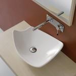 Компактна и Стилна Мивка за баня Kong 50 см - Scarabeo