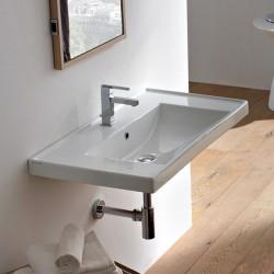 Стилна италианска Мивка за баня - 90 см