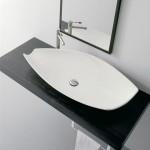 Дълга Мивка за баня Kong - модерен италиански дизайн