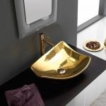 ЗЛАТНА Мивка за баня тип чиния