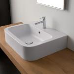 Мивка за баня Next - за монтаж върху плот или на стена