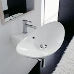Мивка за баня за монтаж на стена  Zefiro - от Scarabeo