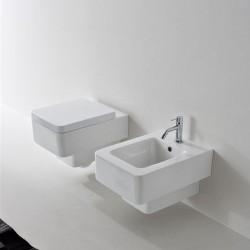 Тоалетна чиния Teorema дуропласт - Окачена