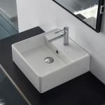Квадратна мивка за баня Teorema 46 см - Scarabeo