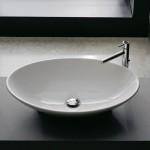 Италианска Мивка за баня Neck за монтаж върху плот
