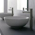 Мивка за баня Sfera - сферична форма без отвор за смесител